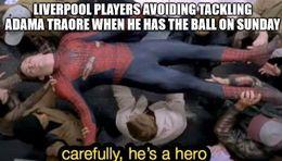He has the ball memes