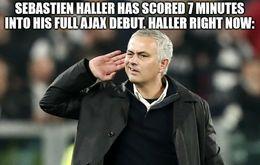 Ajax debut memes