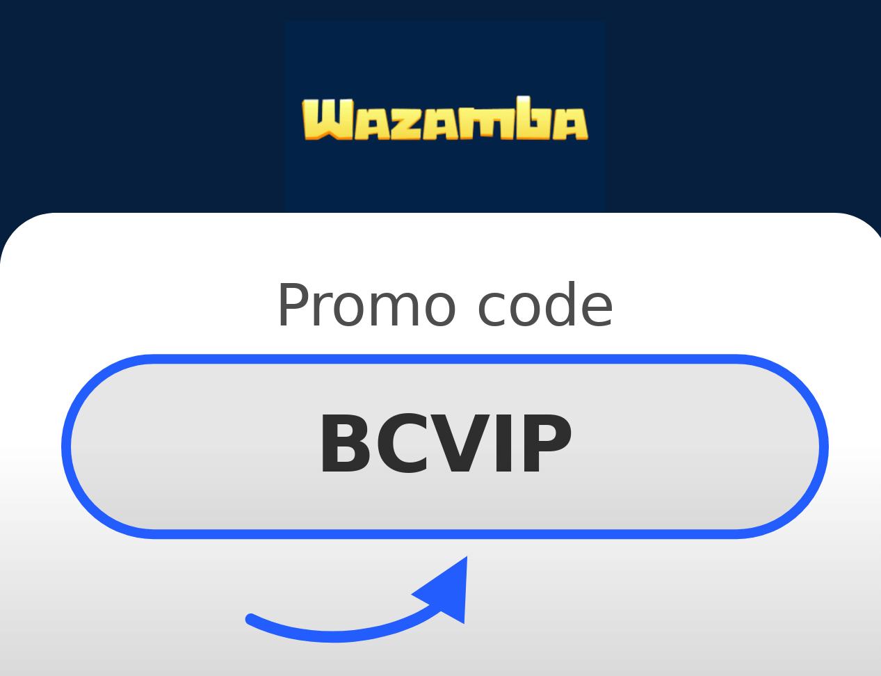 Wazambaカジノプロモコード